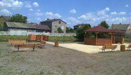 Zagospodarowanie terenu poprzez stworzenie miejsca rekreacji i wypoczynku w Gminie Przyrów