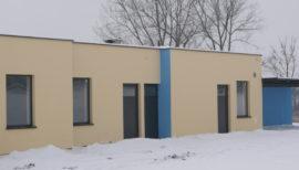 Budowa budynku socjalnego przy stadionie sportowym w Strzelcach Wielkich