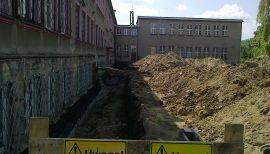Termomodernizacja budynku Liceum Ogólnokształcącego w Będzinie